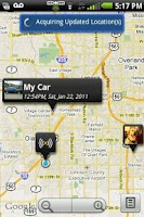 Screenshot of Garmin Tracker™