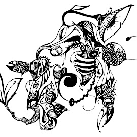Seahorse by Wes Jourdan - Drawing All Drawing ( pen, abstract, doodle )