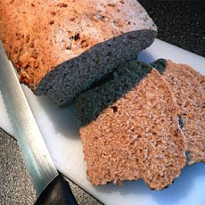 Whole Wheat Sunflower Flax Bread (For the Bread Machine)