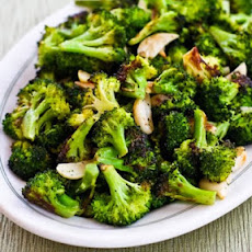 Roasted Broccoli with Garlic