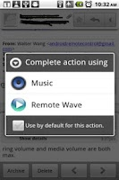Screenshot of Remote Wave Free