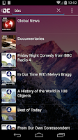 Screenshot of OneCast - podcast simply