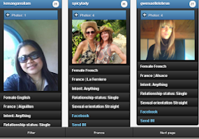 Screenshot of French girls