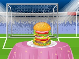 Screenshot of Delicious Burger Cooking Games