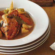 Chicken Stew With Parsnips, Sage And Cream