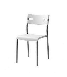 Sleek White Chair (Suva only)