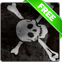 Pirate flag free livewallpaper icon