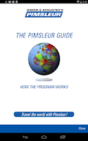 Screenshot of Pimsleur Course Manager App