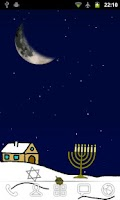 Screenshot of Hanukkah Live Wallpaper