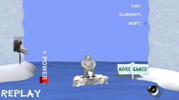 Screenshot of Penguin Toss