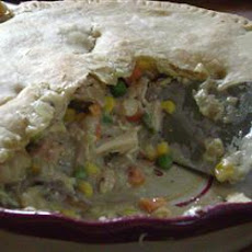 Cajun Chicken Pot Pie