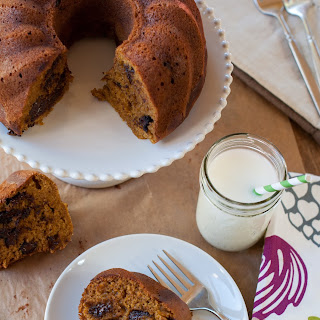 Chocolate Chip Pumpkin Bundt Bread
