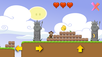 Screenshot of Johnny Banana, the platformer