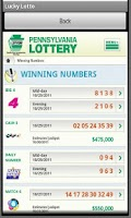 Screenshot of Pa Lucky Lotto