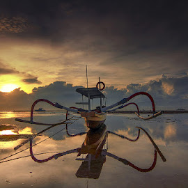 Mertasari Beach by Denny Iswanto - Landscapes Sunsets & Sunrises