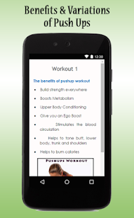 Push-Ups Workout Guide - screenshot