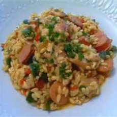 Risotto with Chicken, Sausage and Peppers