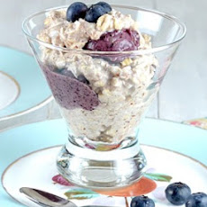 Blueberry-Banana Oatmeal Sundaes