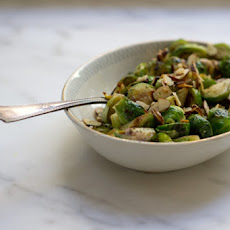 Oregano Brussels Sprouts