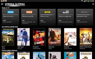 Screenshot of Horizon TV Polska