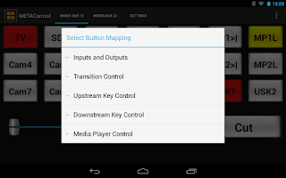 Screenshot of METAControl