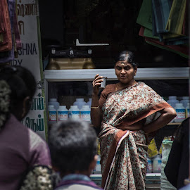 Far from the Madding Crowd by Manish Sinha - City,  Street & Park  Markets & Shops