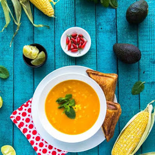 Sweet Potato and Corn Soup