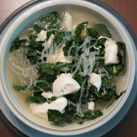Japanese-Inspired Whitefish and Noodle Soup