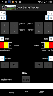 Gaelic Games Tracker - screenshot