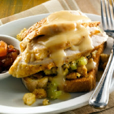 Hot Roasted Turkey Mountain (Hot Turkey Sandwich)