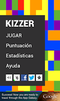 Screenshot of Kizzer (Juego Trivial)