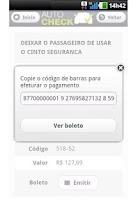 Screenshot of Autocheck Detran Multas