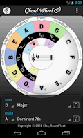 Screenshot of Chord Wheel : Circle of 5ths