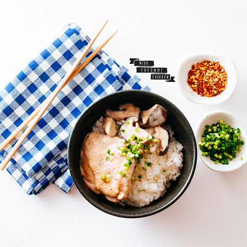 Miso Coconut Chicken