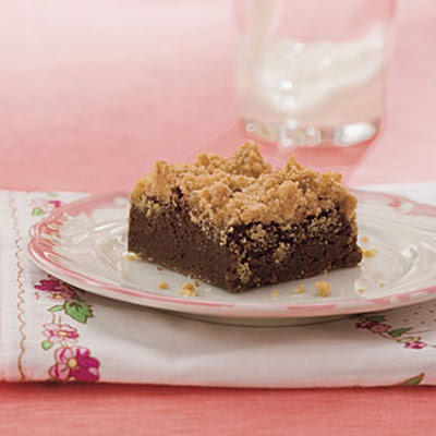 Peanut Butter Streusel Brownies