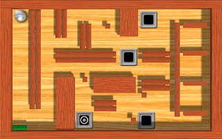 Screenshot of 3D Labyrinth Ball