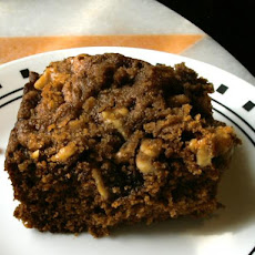 Gingerbread With Streusel Topping