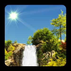 Cover art True Weather, Waterfalls