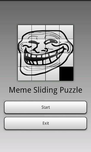 【免費解謎App】Meme Sliding Puzzle-APP點子