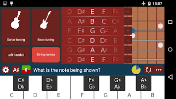 Screenshot of Learn Guitar Notes