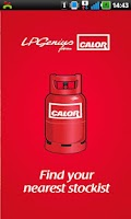 Screenshot of Calor Gas Stockists