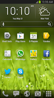 Screenshot of Yandex.Shell (Launcher+Dialer)