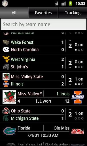 College Baseball Tracker