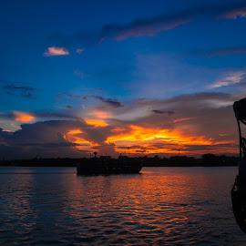 by Mrinmoy Pratihar - Landscapes Sunsets & Sunrises