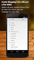 Screenshot of Shopping List - Pro