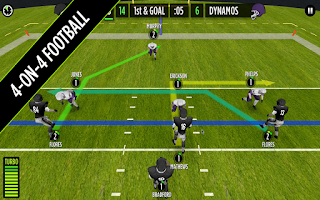 Screenshot of GameTime Football w/ Mike Vick