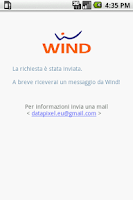 Screenshot of Saldo Wind
