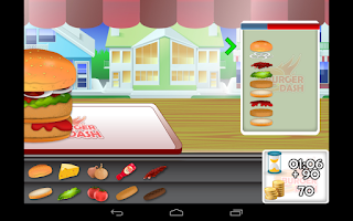 Screenshot of Burger Dash - Cooking Games