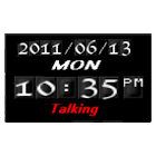chaos Talking Clock icon