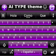 THEME FOR AI TYPE BLACK PURPLE